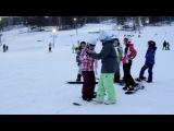 Горнолыжная школа и школа сноубординга Зима 2014 Часть 1
